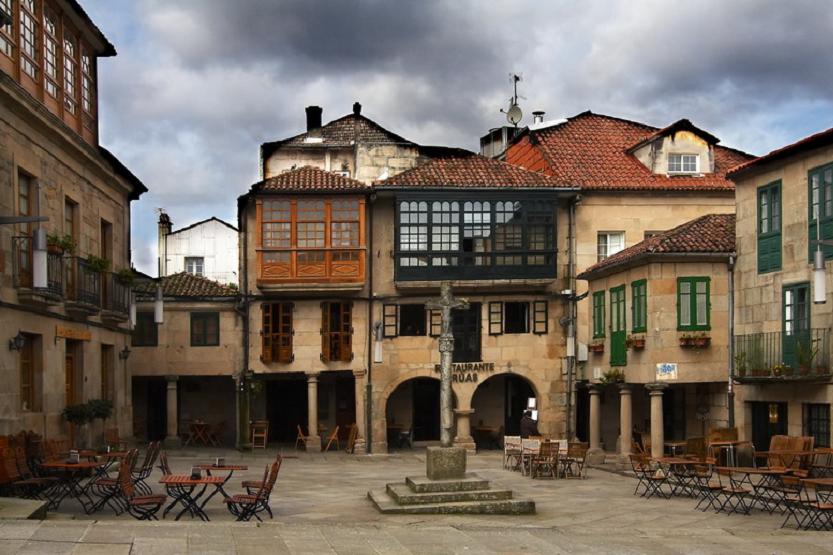 Plaza de La Leña Praza da Leña Pontevedra