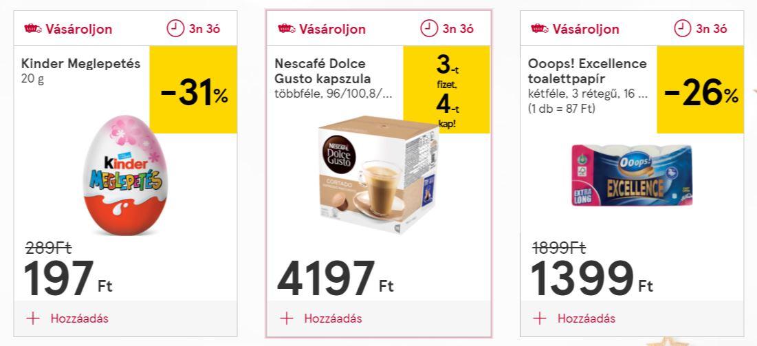 Precios en Tesco Hungría