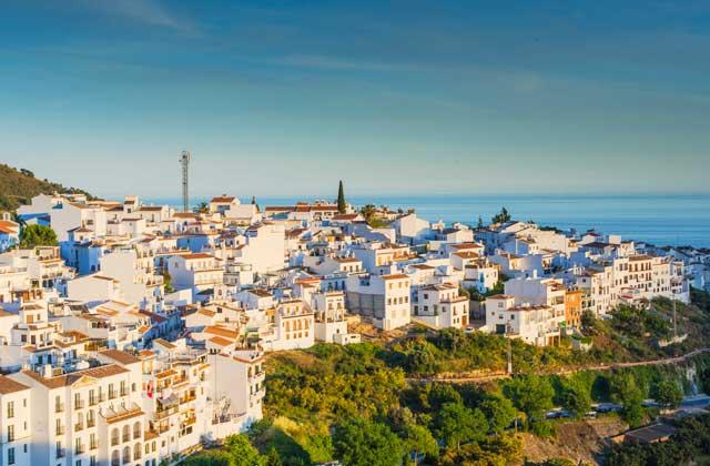 Pueblos blancos de Málaga Frigiliana