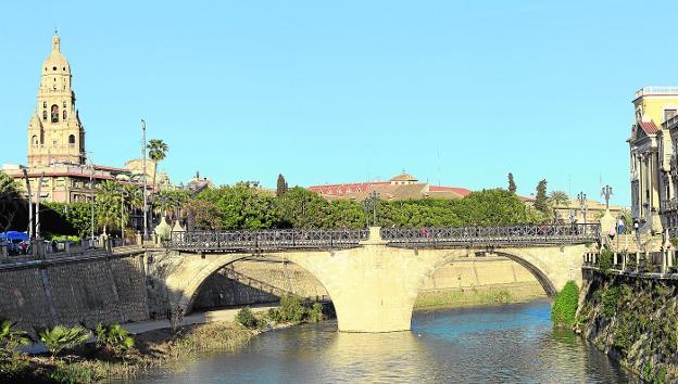 Puente Viejo o Puente de los Peligros Murcia