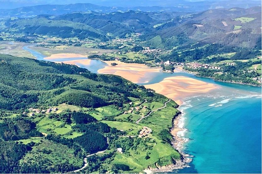 Reserva de la biosfera Urdaibai Vizcaya