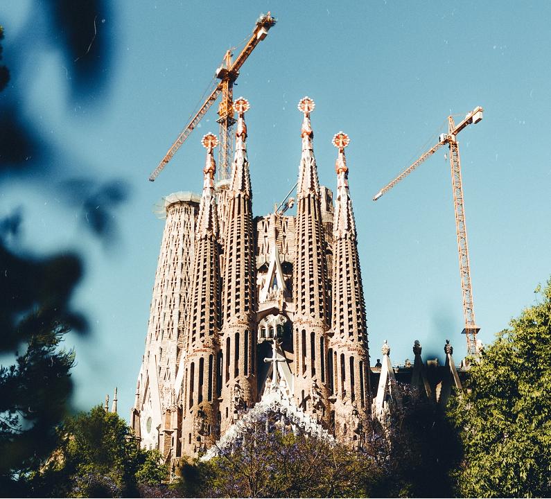 Sagrada Familia de Barcelona vista exterior