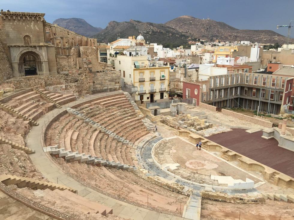 Teatro Romano de Cartagena (Murcia)
