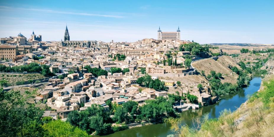 Toledo desde los miradores del Tajo (Clemente Corona Unsplash)