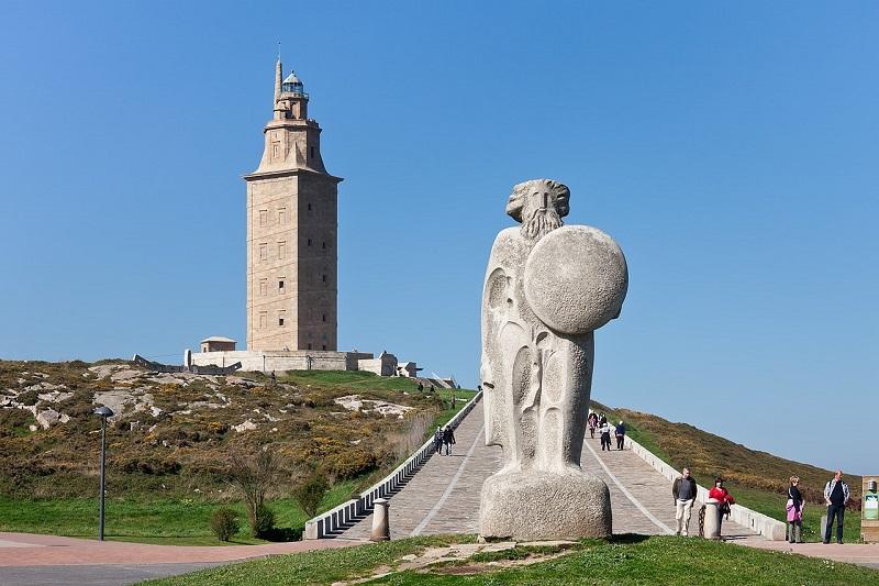 Torre de Hércules Torre de Breogán