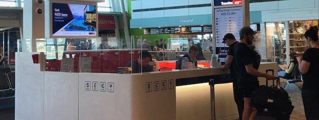 Travelex Wellington Airport New Zealand