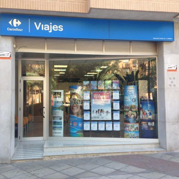 Viajes Carrefour agencia de San Vicente de Raspeig Alicante