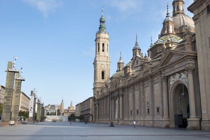 Zaragoza Plaza de la Basílica del Pilar
