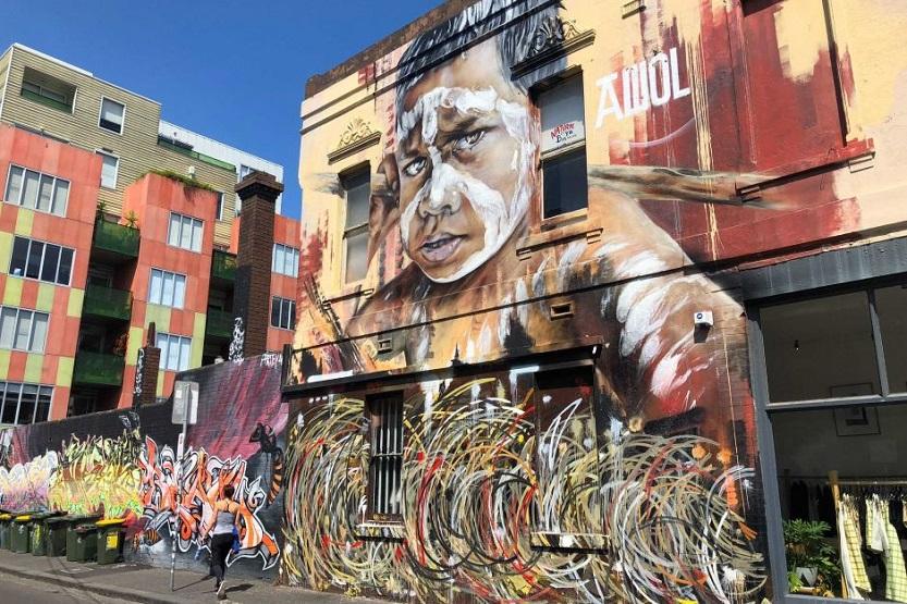 arte en Melbourne