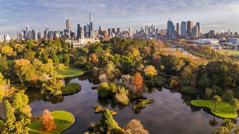royal botanic gardens Melboure